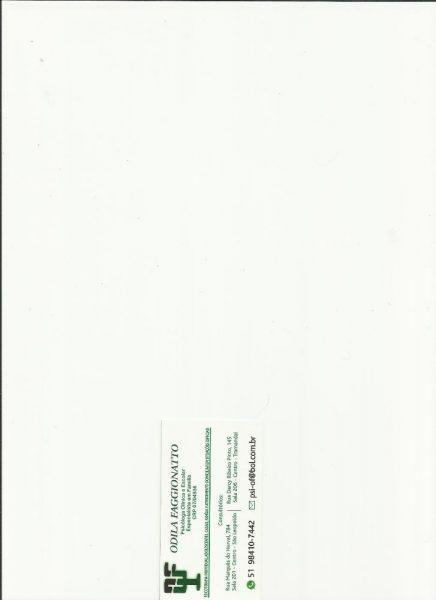 Cartão Odila Faggionatto